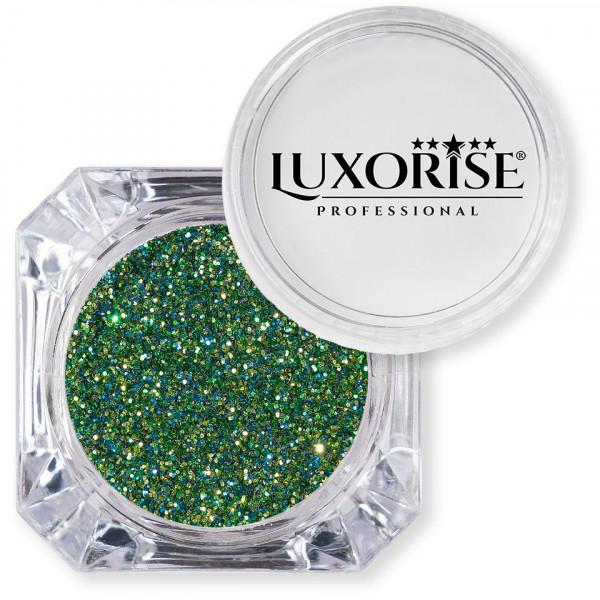 Poze Sclipici Glitter Unghii Pulbere LUXORISE, Forest Green #08