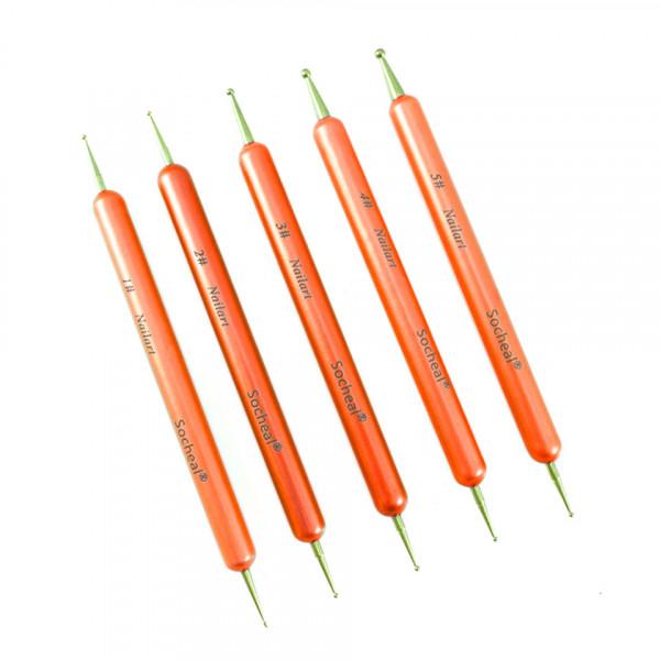 Poze Set 5 Punctatoare pentru Unghii Orange