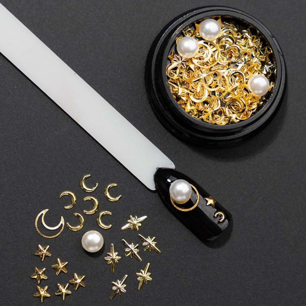 Poze Set decoratiuni unghii 3D Moony Constellation