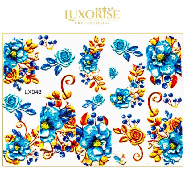 Poze Tatuaj 3D Unghii LUXORISE Artistry LX048