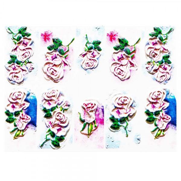 Poze Tatuaj 3D Unghii LUXORISE Artistry LX058