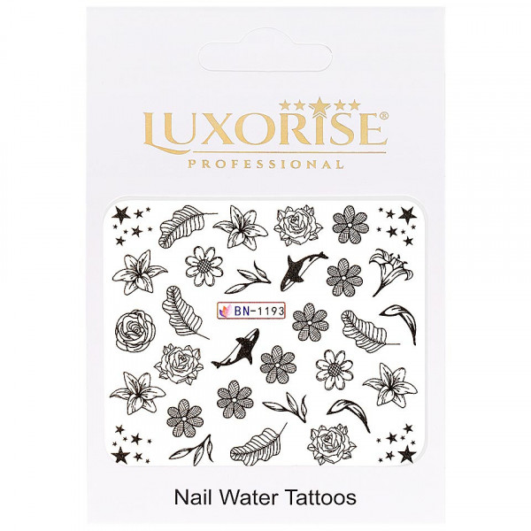 Poze Tatuaj unghii LUXORISE, Fantasy BN-1193