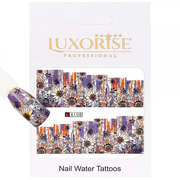 Poze Tatuaj unghii LUXORISE, Nature A108
