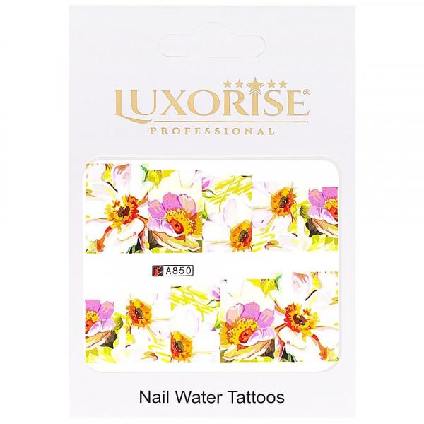 Poze Tatuaj unghii LUXORISE, Nature A850