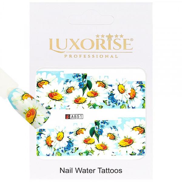 Poze Tatuaj unghii LUXORISE, Nature A851