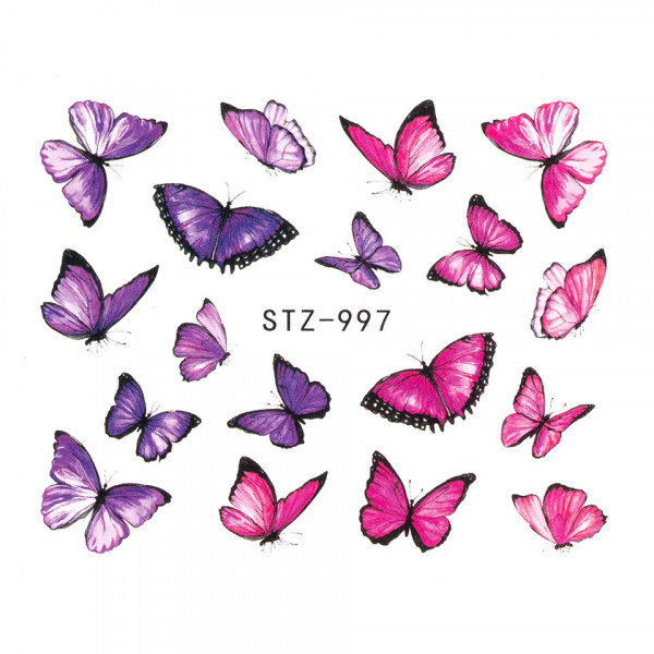 Poze Tatuaj unghii SensoPRO Summer Challenge, model STZ-997