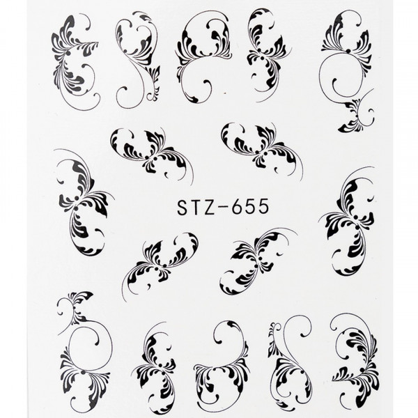 Poze Tatuaj unghii STZ-655 abstract