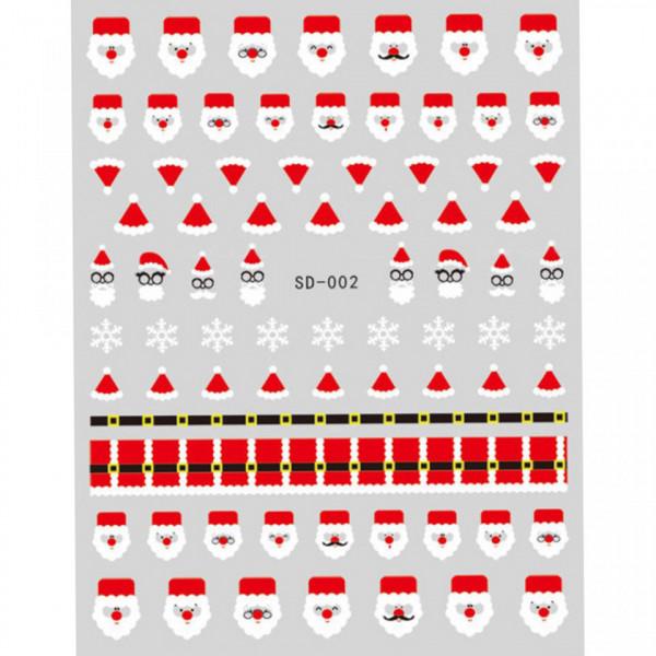 Poze Abtibild unghii SD-002 Jingle Bells