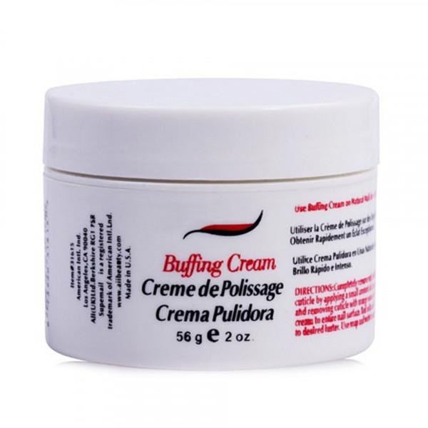 Poze Crema pentru Luciu Unghii, Buffing Cream, 56 gr - Super Nail