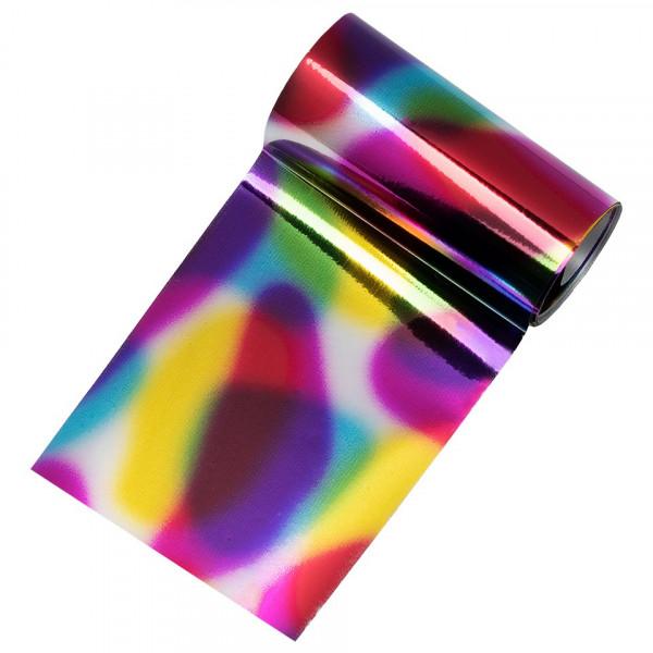 Poze Folie de Transfer Unghii LUXORISE #20 Rainbow