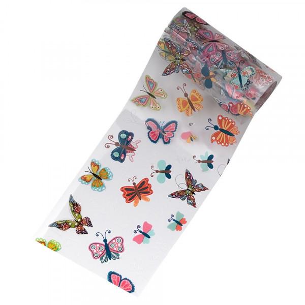 Poze Folie de Transfer Unghii LUXORISE #31-1 Butterfly Mania