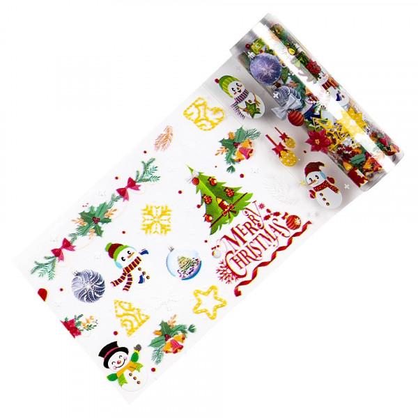 Poze Folie de Transfer Unghii LUXORISE #338 Christmas Vibes