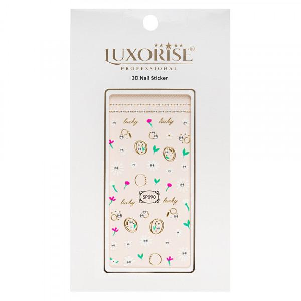 Poze Folie Sticker 3D unghii LUXORISE- SP090