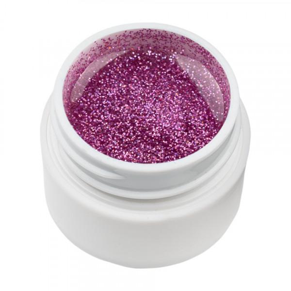 Poze Gel UV Color cu Sclipici ENS PRO #027 - Liliac Glitter