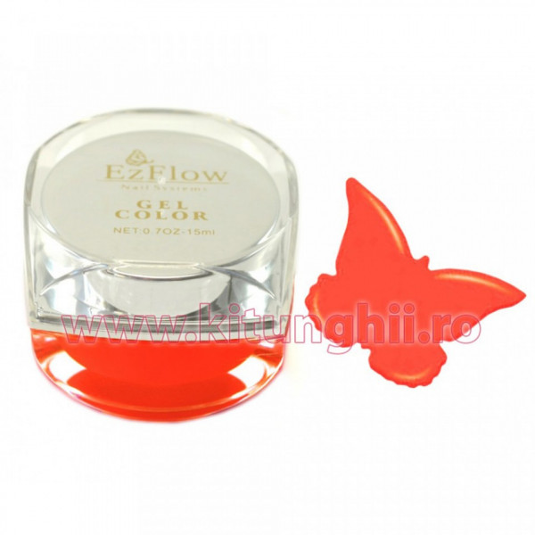Poze Gel UV Color EzFlow 15ml, #011 - Coral Lust