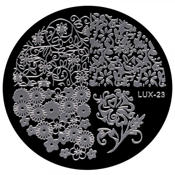 Poze Kit Nail Art cu Stampila, Oja si Matrita - Stylish Nails