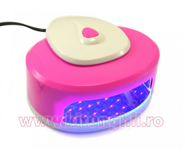 Poze Lampa cu LED Easy-Dry Pink & White