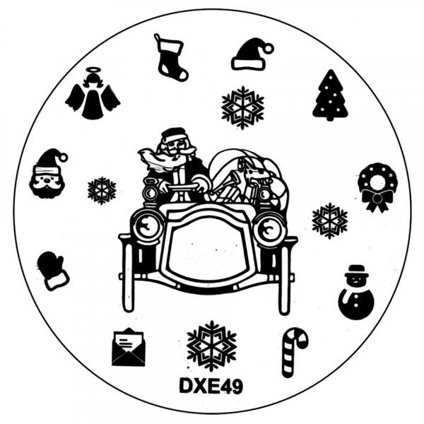 Poze Matrita Unghii Craciun DXE49