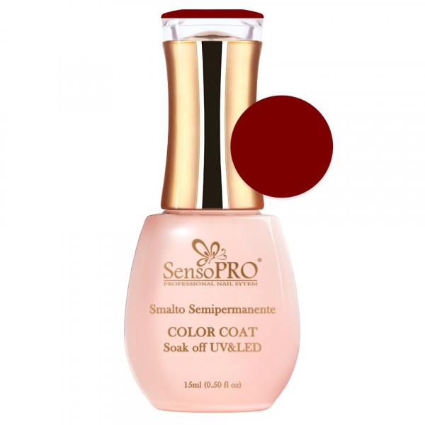 Poze Oja Semipermanenta SensoPRO 15ml culoare Rosu - 045 Classy Red
