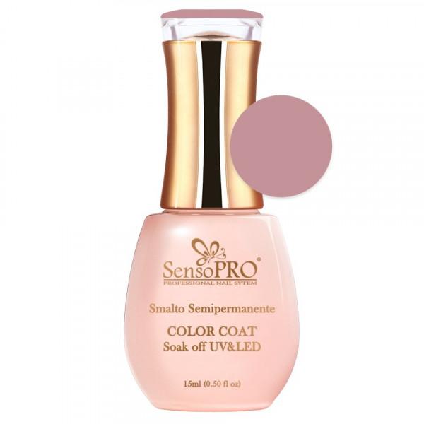Poze Oja Semipermanenta SensoPRO 15ml culoare Roz - 017 Fairy Nude