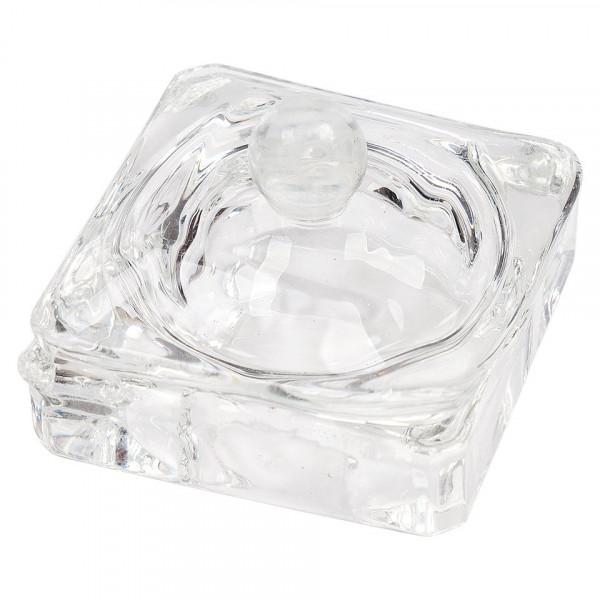 Poze Paharel din sticla cu capac Glass Cube