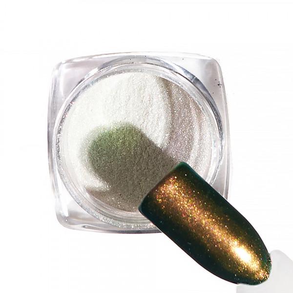 Poze Pigment unghii Chrome #49 cu aplicator - LUXORISE