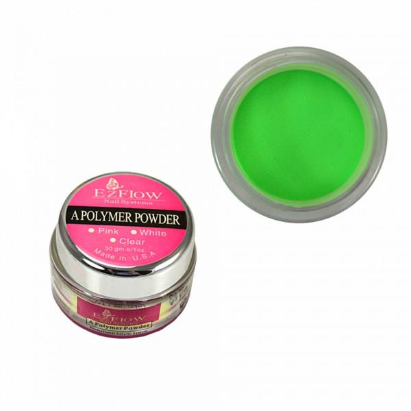 Poze Pudra Acrilica EzFlow Verde - 30g