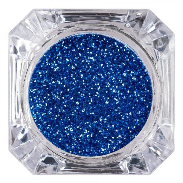 Poze Sclipici Glitter Unghii Pulbere LUXORISE, Gentiana #48