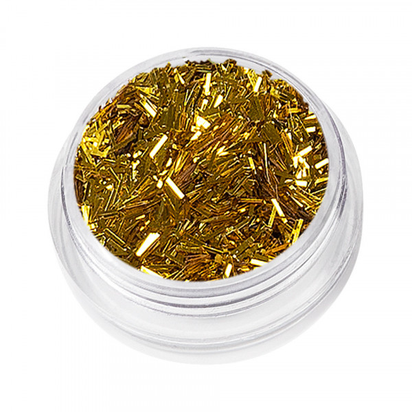 Poze Sclipici Unghii Lung Nail Glitter Dance, Gold