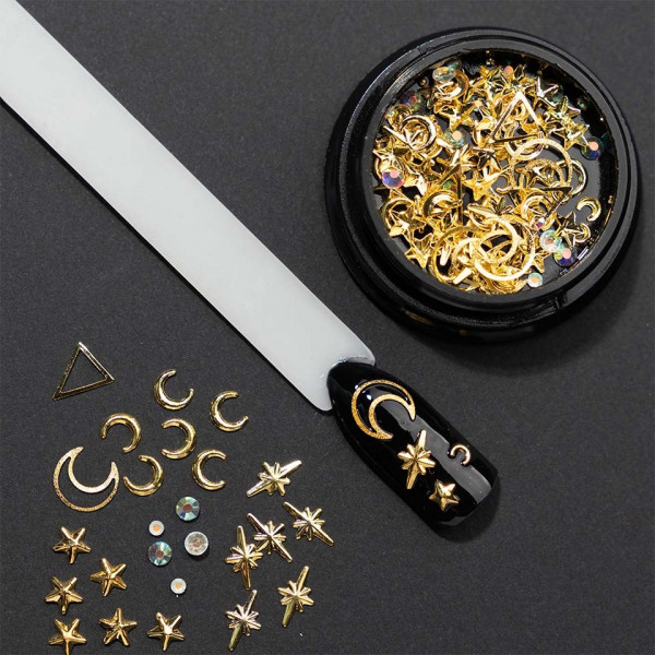Poze Set decoratiuni unghii 3D Twinkling Constellation
