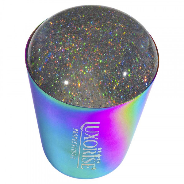 Poze Stampila Unghii Silicon cu Racleta, LUXORISE Starlight Dust