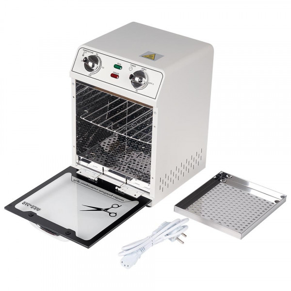 Poze Sterilizator cu Aer Cald instrumente manichiura Alb / saloane SM-220