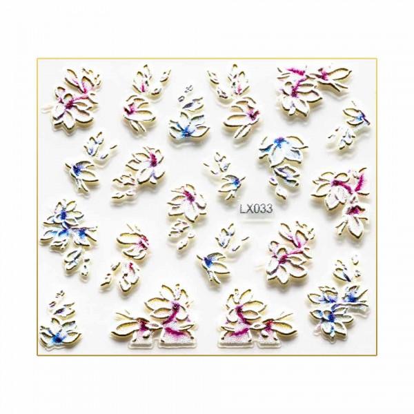 Poze Sticker 3D Unghii LUXORISE Artistry LX033