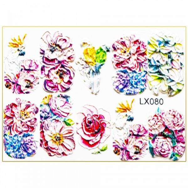 Poze Tatuaj 3D Unghii LUXORISE Artistry LX080