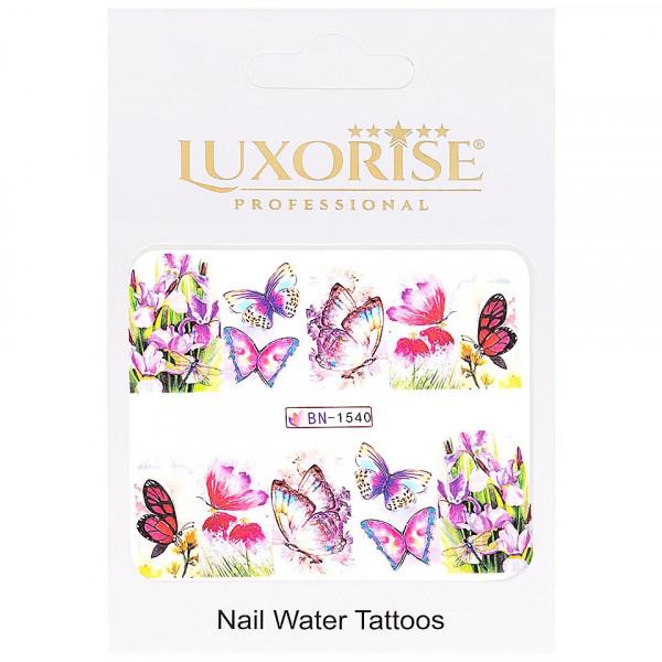 Poze Tatuaj unghii LUXORISE, Butterfly BN-1540