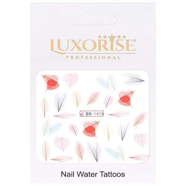 Poze Tatuaj unghii LUXORISE, Nature BN-1415