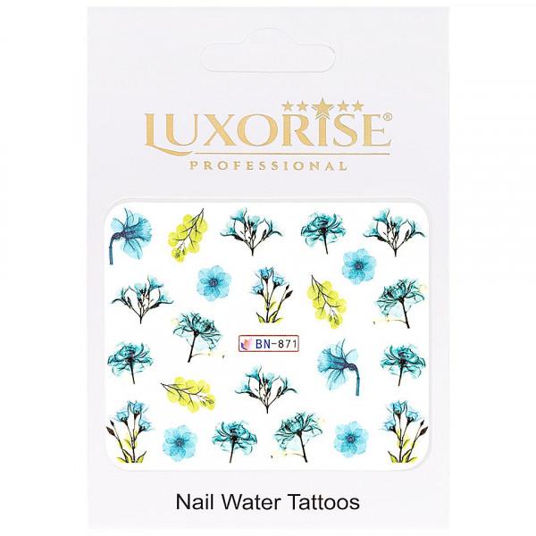 Poze Tatuaj unghii LUXORISE, Nature BN-871