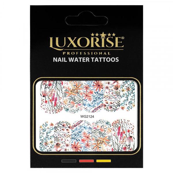 Poze Tatuaj unghii LUXORISE, Nature WG2124