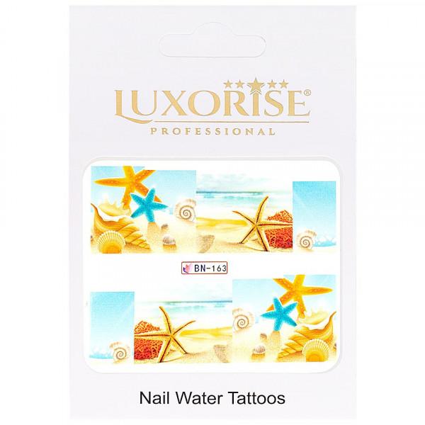 Poze Tatuaj unghii LUXORISE, Tropical BN-163
