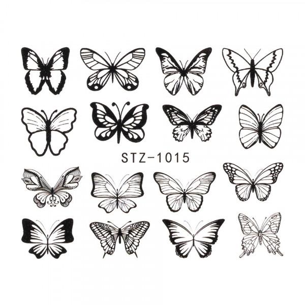 Poze Tatuaj unghii SensoPRO Summer Challenge, model STZ-1015