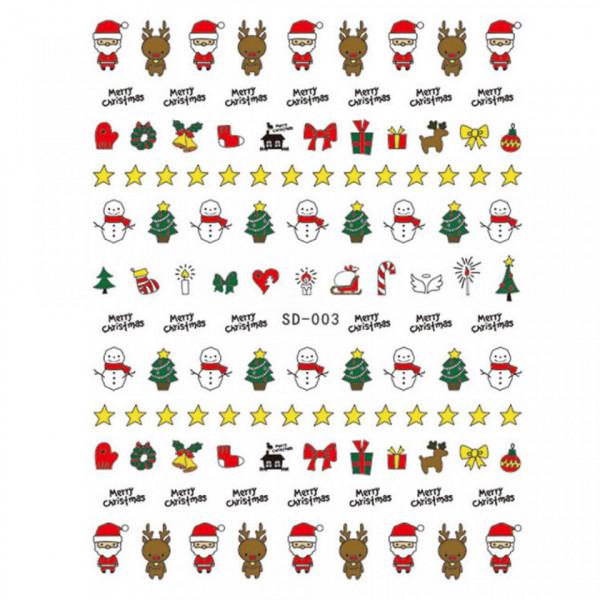 Poze Abtibild unghii SD-003 Jingle Bells