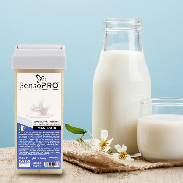 Poze Ceara Epilat Unica Folosinta SensoPRO Milano, Rezerva Milk 100 ml