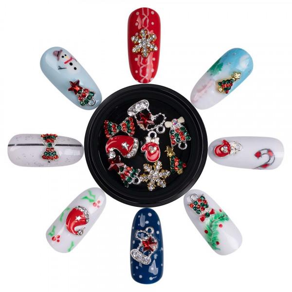 Poze Decoratiuni Unghii Christmas Spirit LUXORISE 03