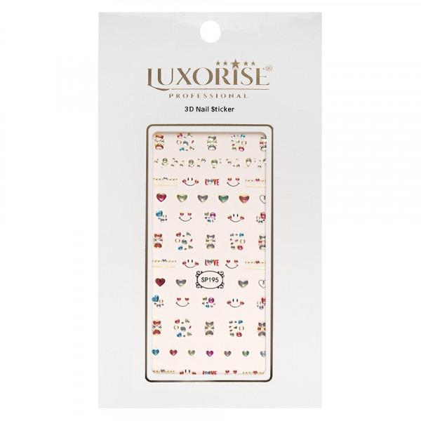 Poze Folie Sticker 3D unghii LUXORISE- SP195