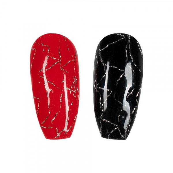 Poze Folie Unghii Nail Art 3D Mesh #01