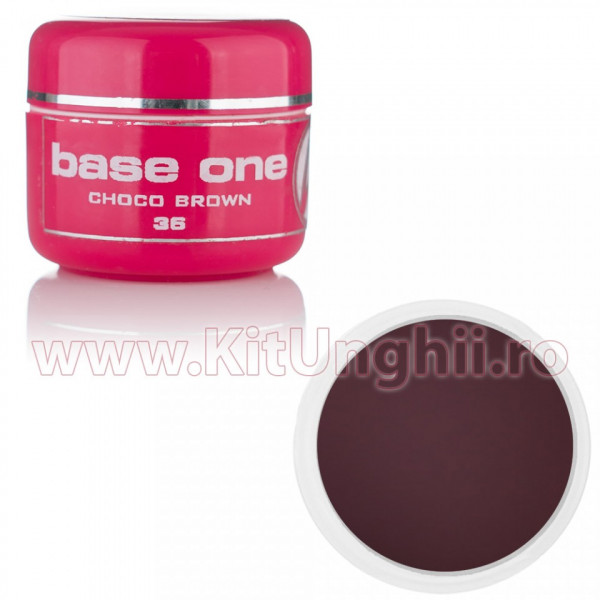 Poze Gel UV Base One Choco Brown