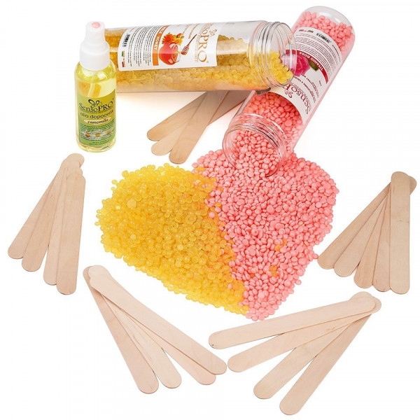 Poze Kit Epilare Ceara Elastica Consumabile SensoPRO Italia Honey Touch