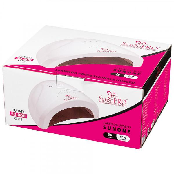 Poze Kit Unghii Gel si Oja Semipermanenta Incepatori cu Lampa UV/LED SensoPRO Promotie #03