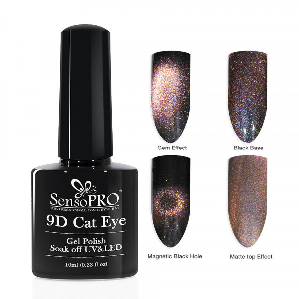 Poze Oja Semipermanenta 9D Cat Eye #21 Mirfi - SensoPRO 10 ml