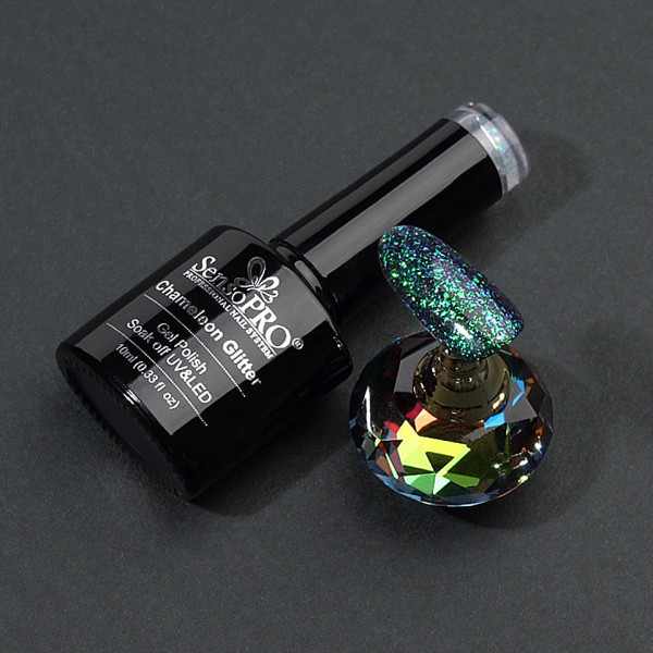 Poze Oja Semipermanenta Cameleon Glitter SensoPRO 10ml - 010 Magic Story